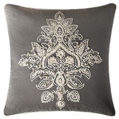 VCNY Katarina Medallion Embroidered Throw Pillow