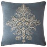 VCNY Katarina Medallion Embroidered Throw Pillow