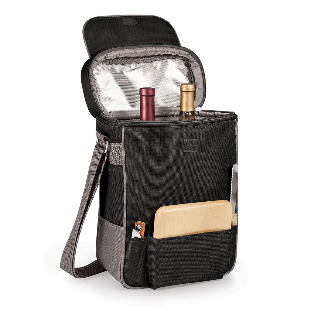 Picnic Time Pittsburgh Pirates Duet Insulated Wine & Cheese Bag