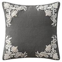 VCNY Lyssa Floral Embroidered Throw Pillow