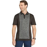 Men's Van Heusen Air Melange Classic-Fit Colorblock Polo