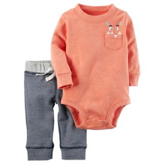 Baby Boy Carter's Monster Bodysuit & Pants Set