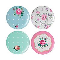 Royal Albert 4-pc. Vintage Mix Melamine Salad Plate Set