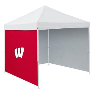 Logo Brands Wisconsin Badgers Tent Side Panel