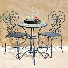 Bombay® Outdoors Toulouse Bistro Table & Chair 3-piece Set