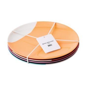 Royal Doulton 1815 4-pc. Melamine Salad Plate Set