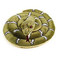 National Geographic Green Snake Plush by Lelly