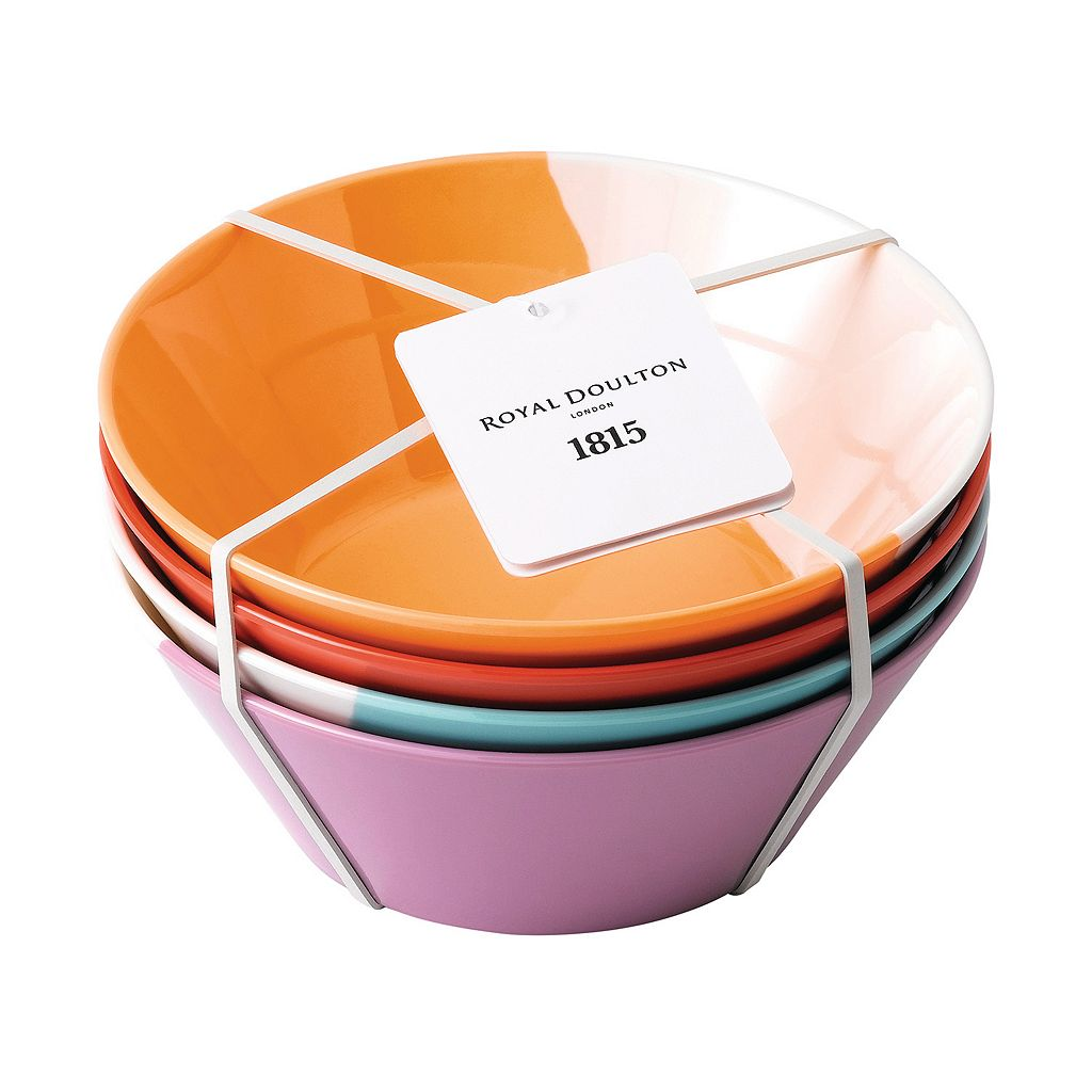 Royal Doulton 1815 4-pc. Melamine Cereal Bowl Set
