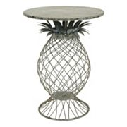 Bombay® Outdoors Steel Pineapple End Table