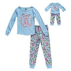 Girls 4-14 Dollie & Me 'Dance' Ballet Top & Bottoms Pajama Set