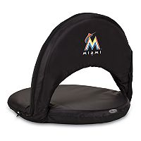 Picnic Time Miami Marlins Portable Chair