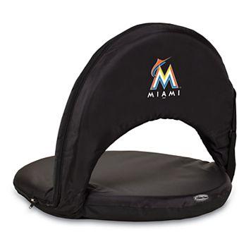 Picnic Time Miami Marlins Portable Chair