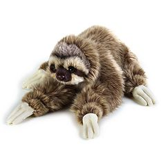National Geographic Sloth Plush by Lelly