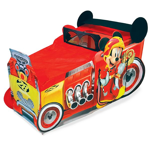 Disney S Mickey The Roadster Racers Vehicle Play Tent By Playhut