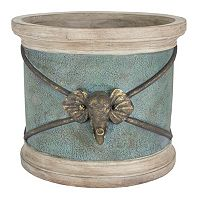 Bombay® Outdoors Round Elephant Planter