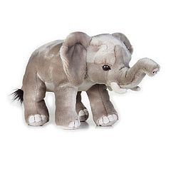 National Geographic African Elephant Plush by Lelly