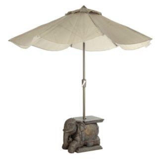 Bombay® Outdoors Elephant Sculpture Patio Umbrella Base