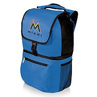 Picnic Time Miami Marlins Zuma Backpack Cooler