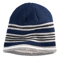Men's Urban Pipeline® Striped Sherpa Beanie