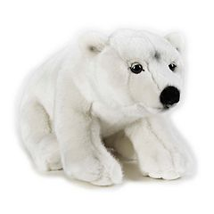 National Geographic Polar Bear Plush by Lelly