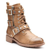 Style Charles by Charles David Caden Women's Moto Boots