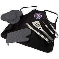 Picnic Time Minnesota Twins BBQ Apron, Utensil & Tote Set