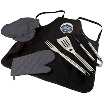 Picnic Time New York Mets BBQ Apron, Utensil & Tote Set