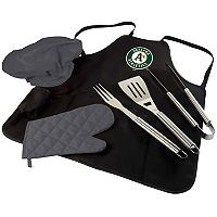 Picnic Time Oakland Athletics BBQ Apron, Utensil & Tote Set