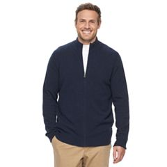 Big & Tall Croft & Barrow® True Comfort Classic-Fit Stretch Sweater