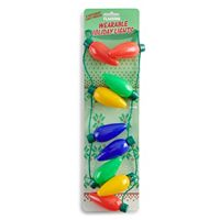 Men's Christmas Lights Necklace
