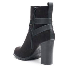 Apt. 9® Manager Women's High ... Heel Ankle Boots