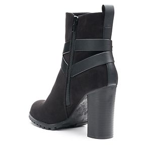 Apt. 9® Manager Women's High ... Heel Ankle Boots 2zT45