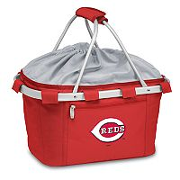 Picnic Time Cincinnati Reds Insulated Picnic Basket