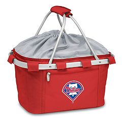 Picnic Time Philadelphia Phillies Insulated Picnic Basket