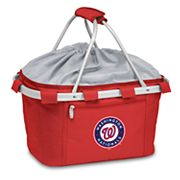 Picnic Time Washington Nationals Insulated Picnic Basket