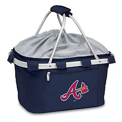 Picnic Time Atlanta Braves Insulated Picnic Basket