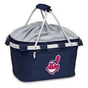Picnic Time Cleveland Indians Insulated Picnic Basket