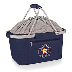 Picnic Time Houston Astros Insulated Picnic Basket