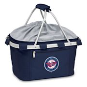 Picnic Time Minnesota Twins Insulated Picnic Basket