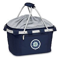 Picnic Time Seattle Mariners Insulated Picnic Basket