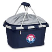 Picnic Time Texas Rangers Insulated Picnic Basket