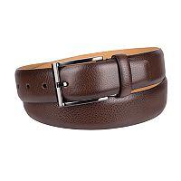 Men's Dockers Feather-Edge Leather Belt