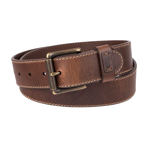 Men's Levi's Double-Grommet Leather Belt