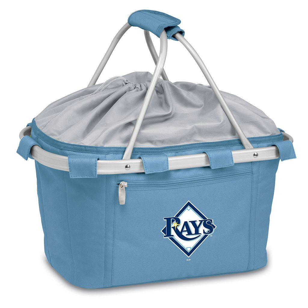 Picnic Time Tampa Bay Rays Insulated Picnic Basket