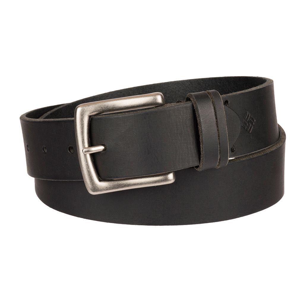 Men's Columbia Beveled Bridle Leather Belt