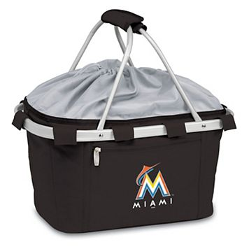 Picnic Time Miami Marlins Insulated Picnic Basket