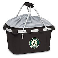 Picnic Time Oakland Athletics Insulated Picnic Basket