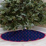 Cleveland Indians Christmas Tree Skirt