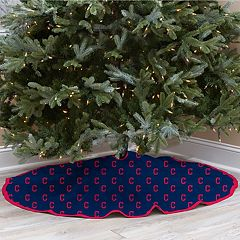 Cleveland Indians Christmas Tree Skirt