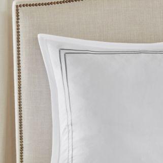Madison Park 400 Thread Count Embroidered Bedskirt & Sham Set